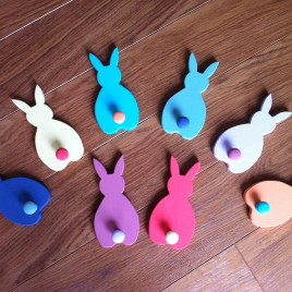 Bunny Coat Peg (Single)