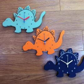 Dinosaur Clock – Spiky