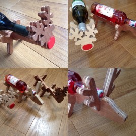 Reindeer Bottle Holder – Wine Bottle Holder